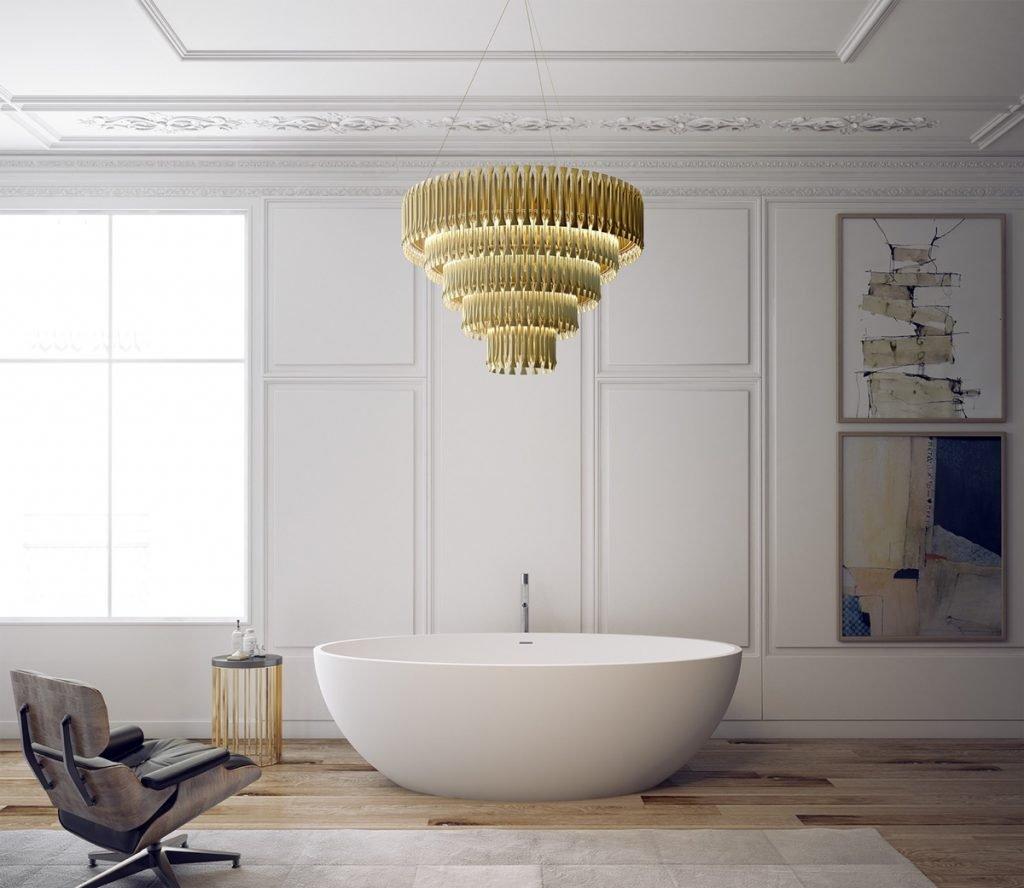 banheira oval para banheiro