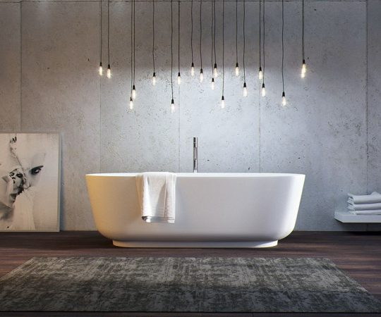 Modelos de banheiras para banheiros