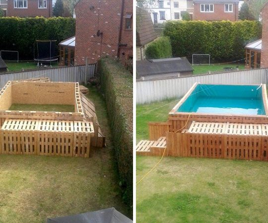 Como construir piscina gastando pouco?